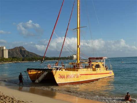 catamaran waikiki na hoku ii catamaran cruises boating honolulu hi yelp