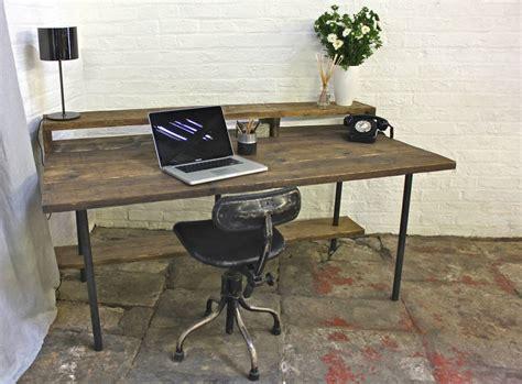 Scaffold Desk by Tovey Reclaimed Scaffolding Desk By Grain