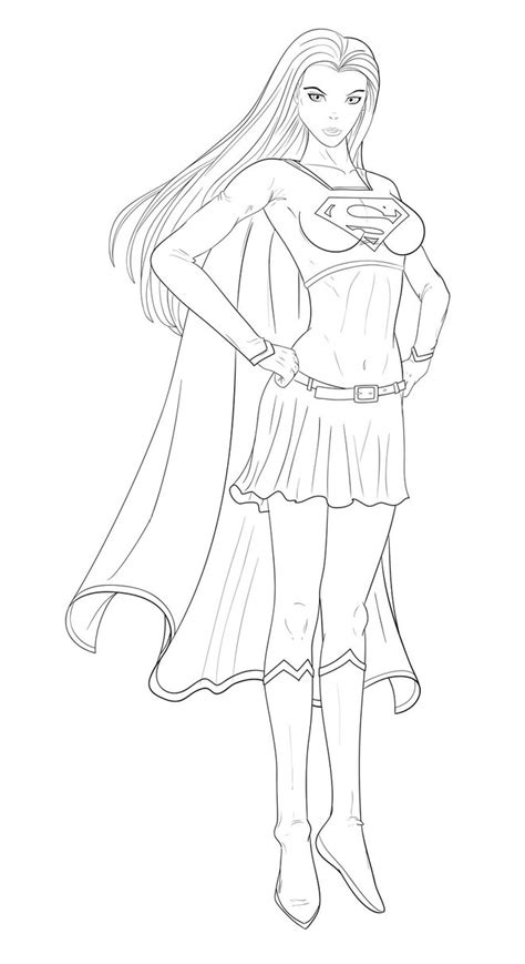 Supergirl Coloring Pages Download Sponsored Links Share Supergirl Coloring Pages