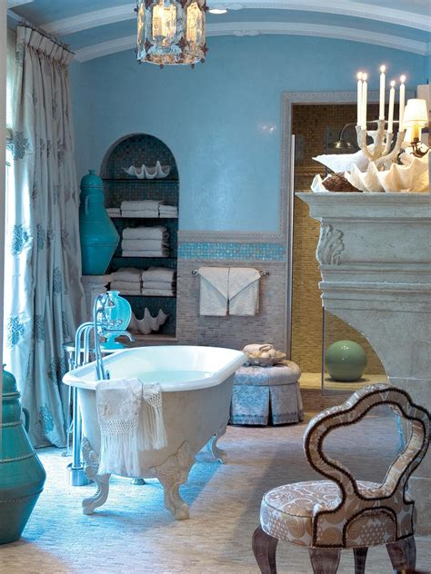blue bathtub photo page hgtv