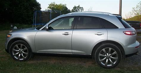 how to sell used cars 2006 infiniti fx electronic valve timing sell used 2006 infiniti fx35 fx 35 silver w black leather navigation tech touring cams in