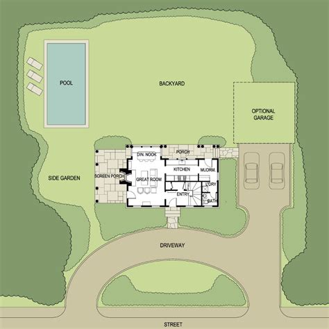 Small Cottage Floor Plans little harbor shingle style home plans by david neff