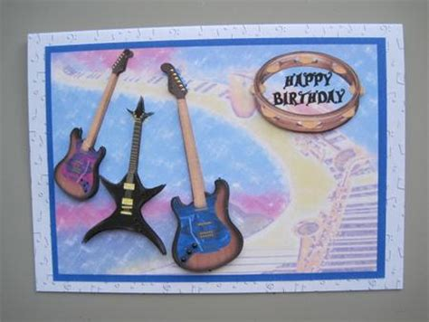 printable birthday cards with guitars guitar ace music lover birthday card cup263945 994