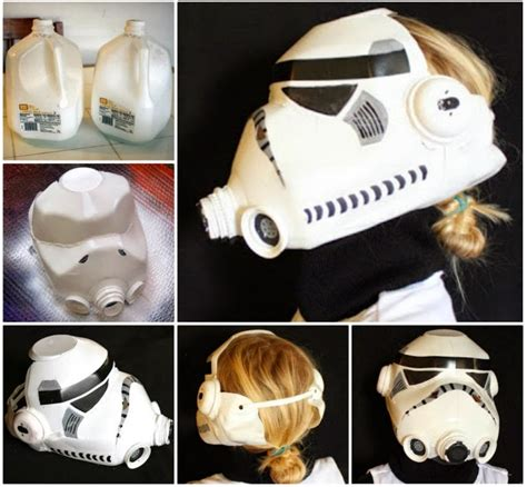 How To Make A Stormtrooper Helmet Out Of Paper - how to make a stormtrooper helmet out of a milk jug