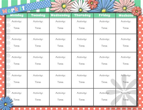 printable exercise images printable workout logs search results calendar 2015