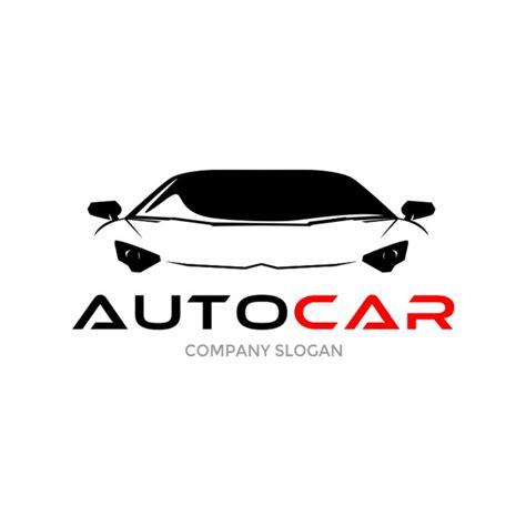 auto sportwagen logo ontwerp vector premium