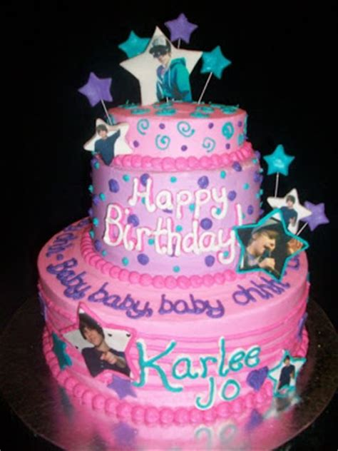 Justin Bieber  Ee  Birthday Ee   Cakes Damnol Pictures