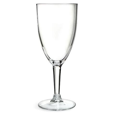 Acrylic Wine Glasses Acrylic Wine Glass 12 3oz 350ml Drinkstuff