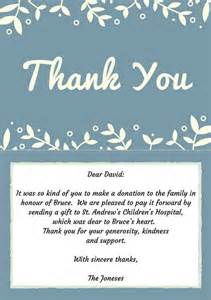 33 best funeral thank you cards funeral note and cards