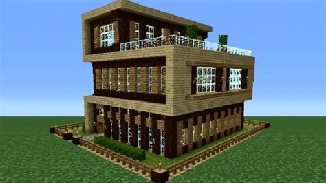 Minecraft Modern House Tutorial Pe House Plan 2017 Minecraft Pe House Plans