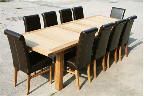 Large Dining Room Table Seats 10 Marceladick Com Dining Room Tables 10 Seats