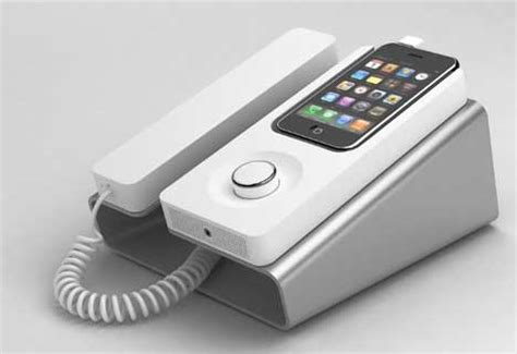 7 Cool Phones For Your House by Cool Retro Iphone Dock Takes You Back From The Future