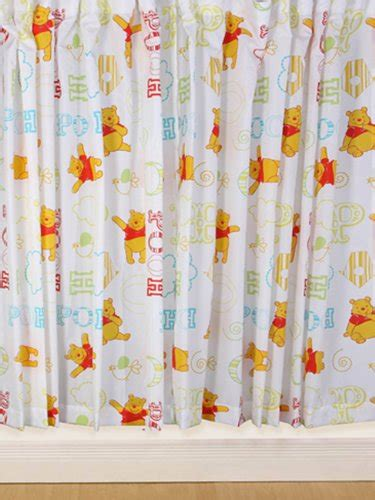 winnie the poo curtains character world disney winnie the pooh playground 54 inch