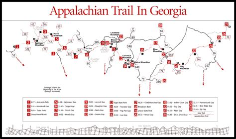 Appalachian Trail Section Maps by Photos Section Appalachian Trail