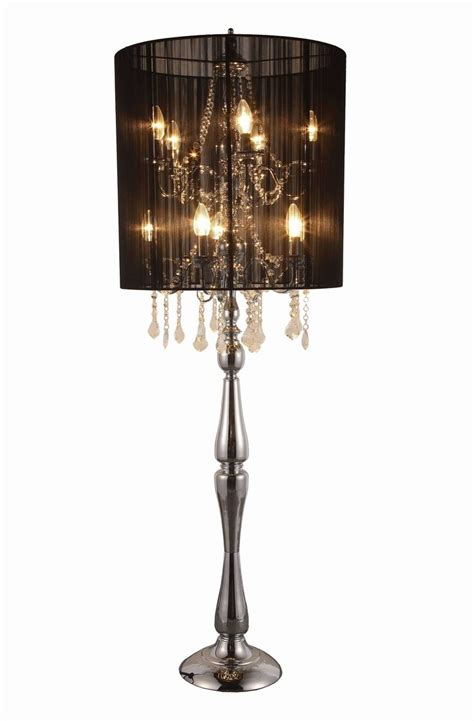 add glamor to your home with floor l chandelier