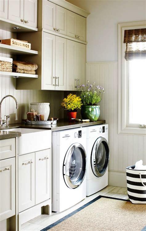 laundry room beadboard backsplash cottage laundry room