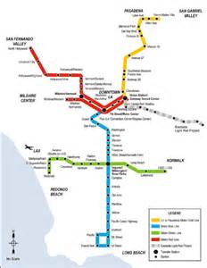 light rail transit in los angeles california