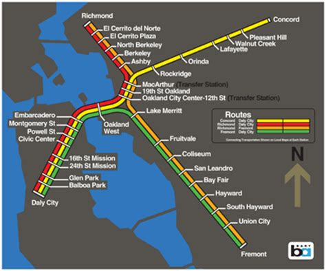 bart stations map a history of bart the project is rescued bart gov