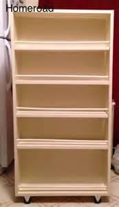 pull out storage diy diy slide out pantry kitchen storage hometalk