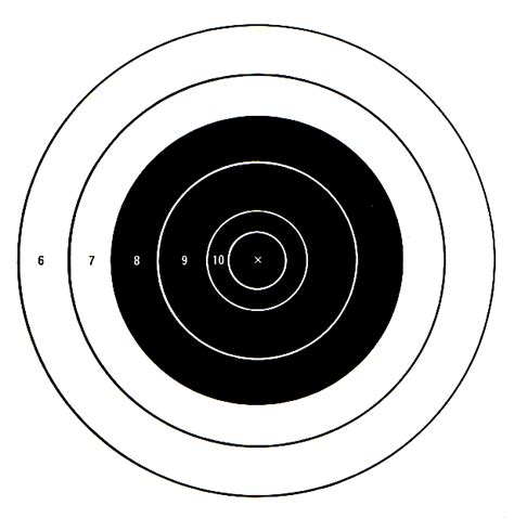 printable large rifle targets free printable targets to download the firearm blogthe