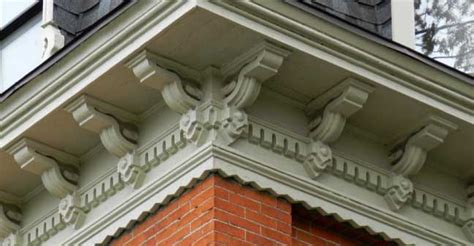 Roof Cornice Molding Hiram Day House