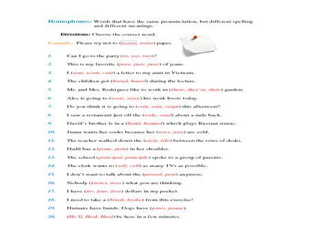 Homograph Worksheets by 28 Homographs Worksheets Grade 5 Homographs