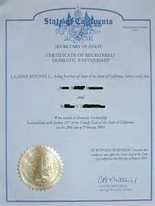 common marriage in california domestic partnership in california wikipedia