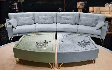 alabama sofa the alabama oval modular sofa in leather upholstery