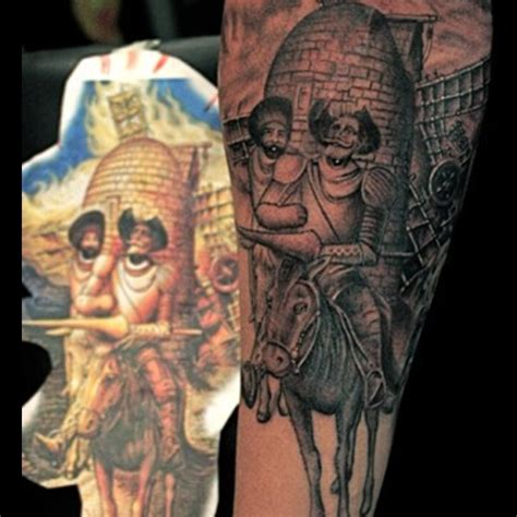 don quixote tattoo 19 best tilting at windmills images on