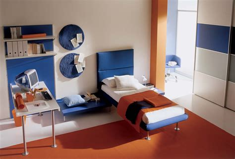 blue and orange decor interior office blue and white orange color wallpapers