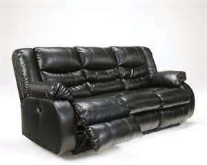 Black Leather Sofa Recliner by Black Leather Reclining Sofa By Furniture