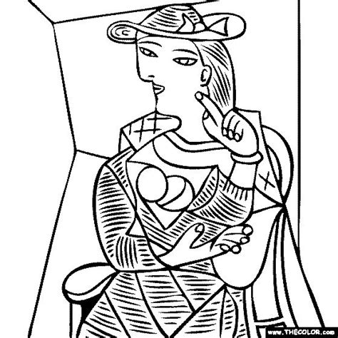 coloring book and the of pablo 199 best images about kunstenaars kleurplaten on