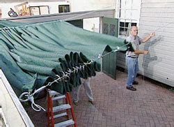 How To Build A Retractable Awning by How To Build A Retractable Awning Diy Projects