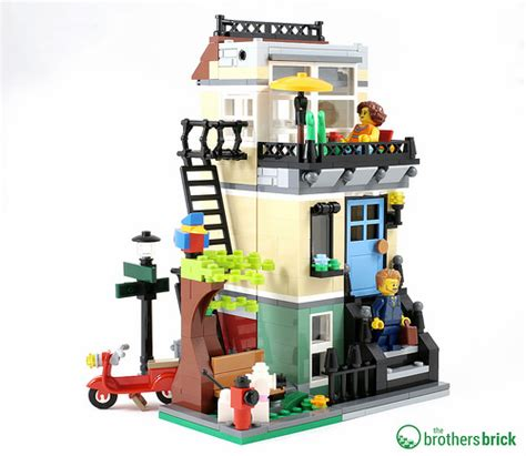 Kimmy Set 3in1 Blue 44 lego 31065 park townhouse 3 in 1 review the brothers brick the brothers brick