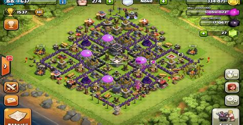 clash of clans town hall top 10 clash of clans town hall level 9 defense base design