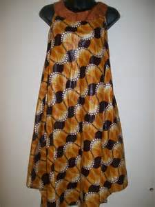 plus size baby doll dress in african print