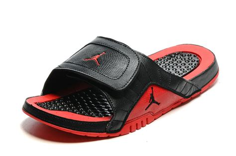 men jordan 2 hydro c 2017 air jordan hydro 12 slide sandals black red for sale