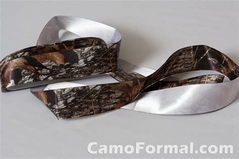 camouflage ribbon mossy oak new breakup add to your dress accessories camouflage prom wedding homecoming formals