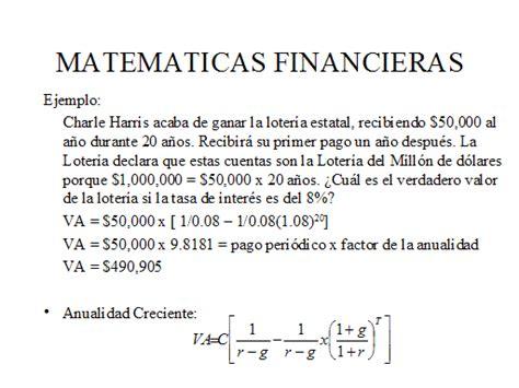 imagenes sobre matematica financiera ejemplos matematica financiera images