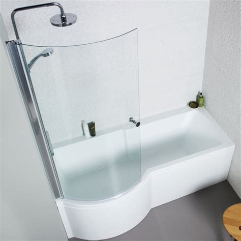 p shaped shower bath kartell uk adapt p shaped shower bath nth 1700 x 850