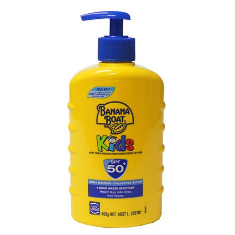 A Of Sunscreen by Banana Boat Spf50 Sunscreen Lotion 400ml Toys R Us