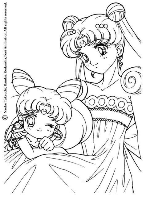 Sailormoon Coloring Pages Sailor Moon Princess Coloring Pages Printable