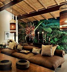 tropical themed living room using tropical accessories lestnic tropical home paradise style living space dream