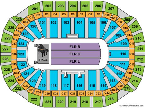 xcel energy center seating map bob seger concert tickets