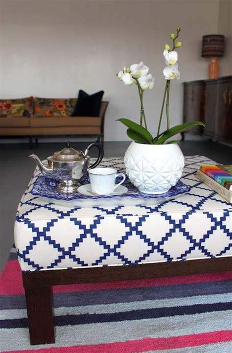 how to upholster an ottoman upholstery basics boxed ottoman design sponge