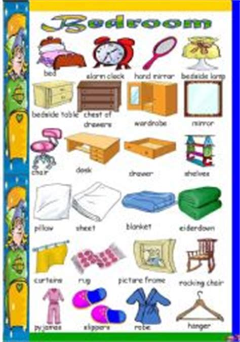 bedroom english vocabulary bedroom furniture names in english memsaheb net