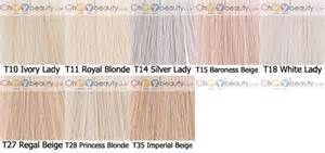 wella color charm toner t18 wella toner s hair wella toner