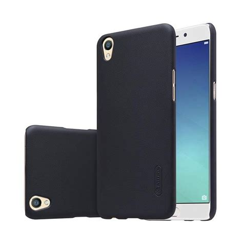 Casing Black jual nillkin frosted shield casing for oppo neo 9 a37