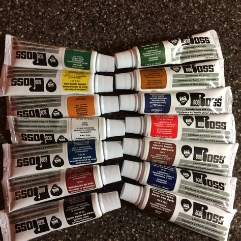 bob ross colors bob ross 37ml paints set 14 colors no duplicates