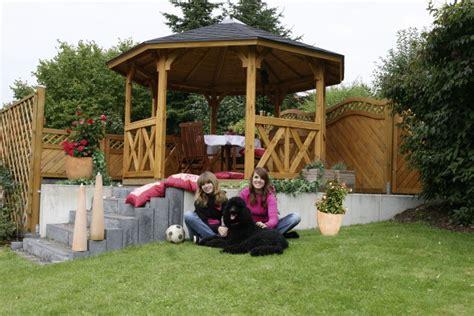 Rund Pavillon Holz by Holz Pavillon Rund 3 3x3 3m 8 Eck Gartenpavillon